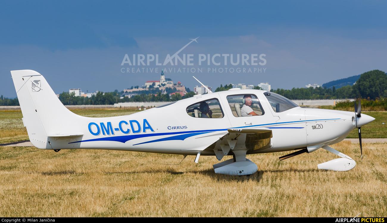Private OM-CDA aircraft at Nitra