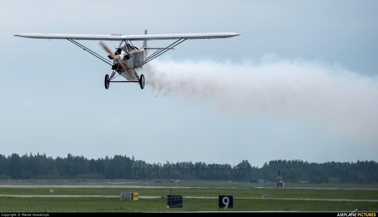 Untitled LY-BDJ aircraft at Siauliai