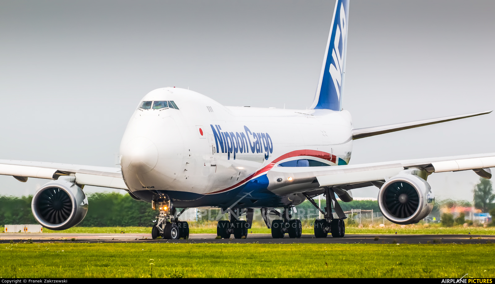 Nippon Cargo Airlines JA17KZ aircraft at Amsterdam - Schiphol