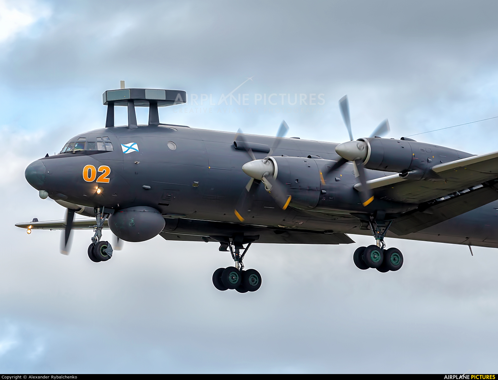 Russia - Navy RF-75341 aircraft at Undisclosed Location