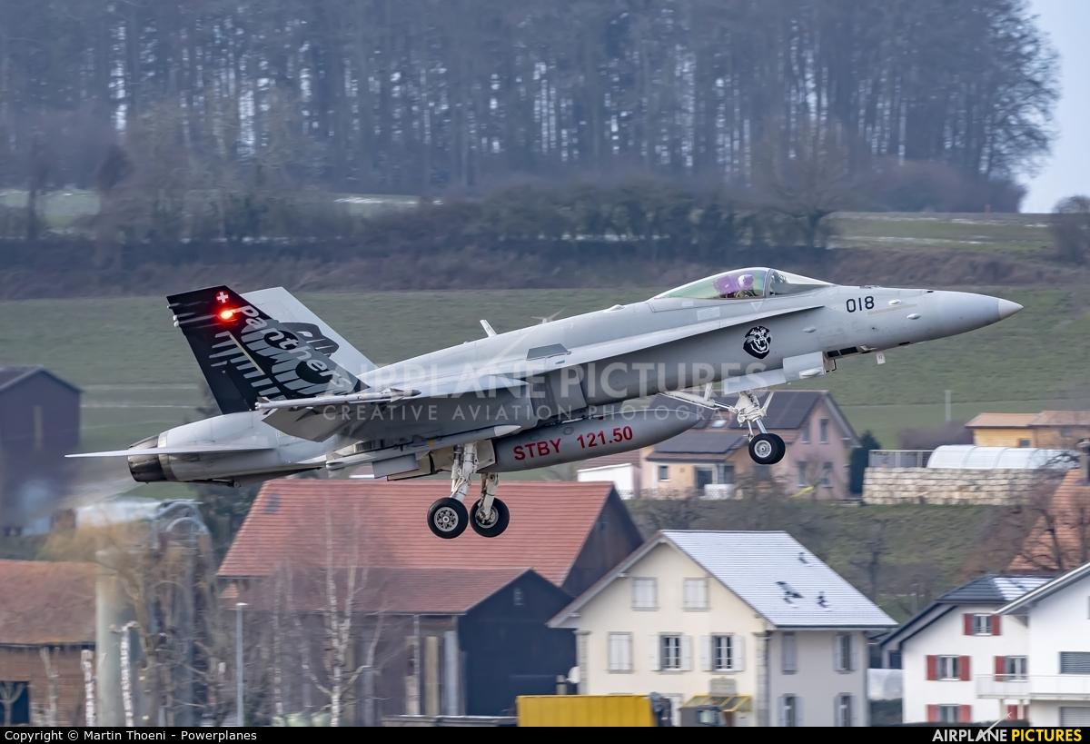 Switzerland - Air Force J-5018 aircraft at Payerne