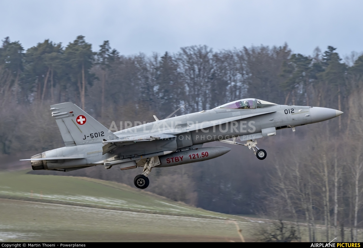 Switzerland - Air Force J-5012 aircraft at Payerne