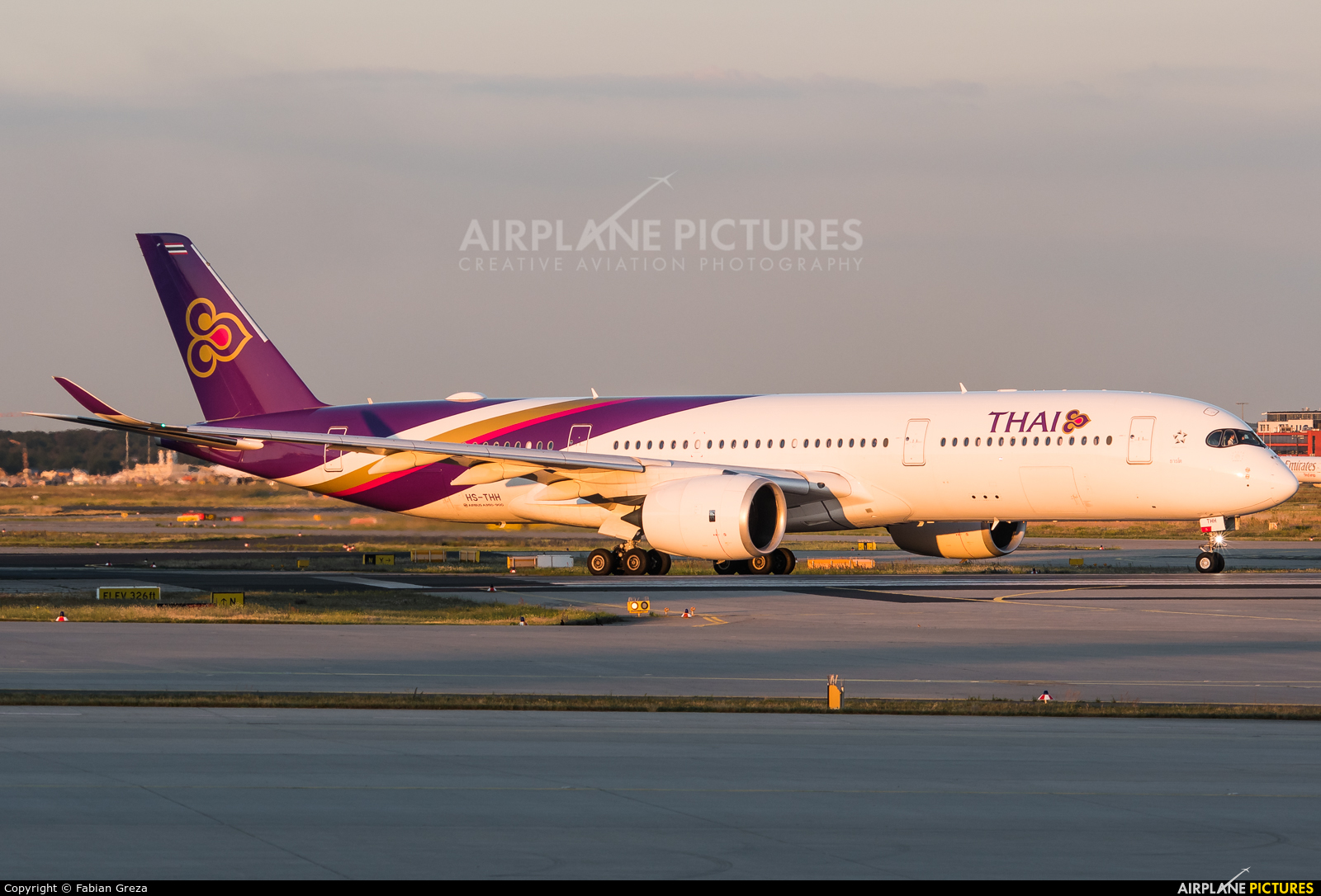 Thai Airways HS-THH aircraft at Frankfurt