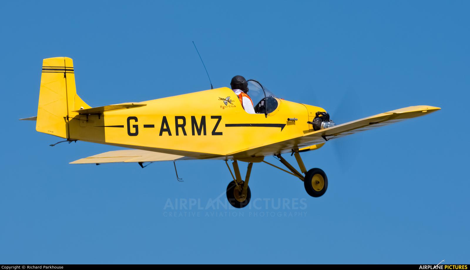 The Tiger Club G-ARMZ aircraft at Little Gransden