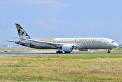 A6-BLW - Etihad Airways Boeing 787-9 Dreamliner aircraft