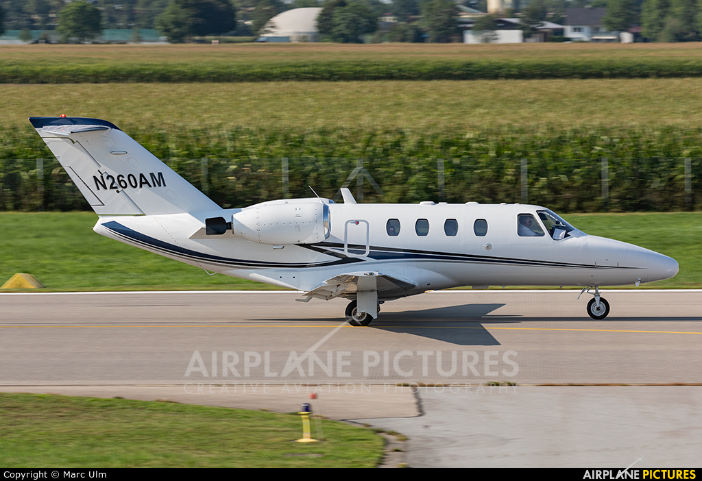 Private N260AM aircraft at Augsburg