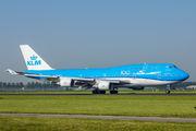 PH-BFN - KLM Boeing 747-400 aircraft