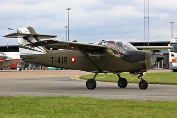 T-419 - Denmark - Air Force SAAB MFI T-17 Supporter