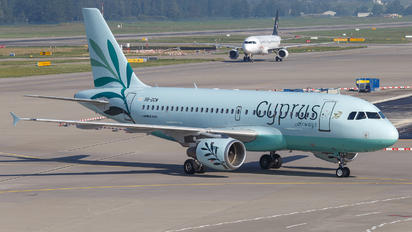5B-DCW - Cyprus Airways Airbus A319