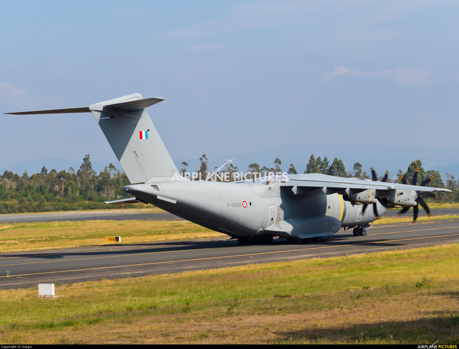 France - Air Force F-RBAE aircraft at Santiago de Compostela