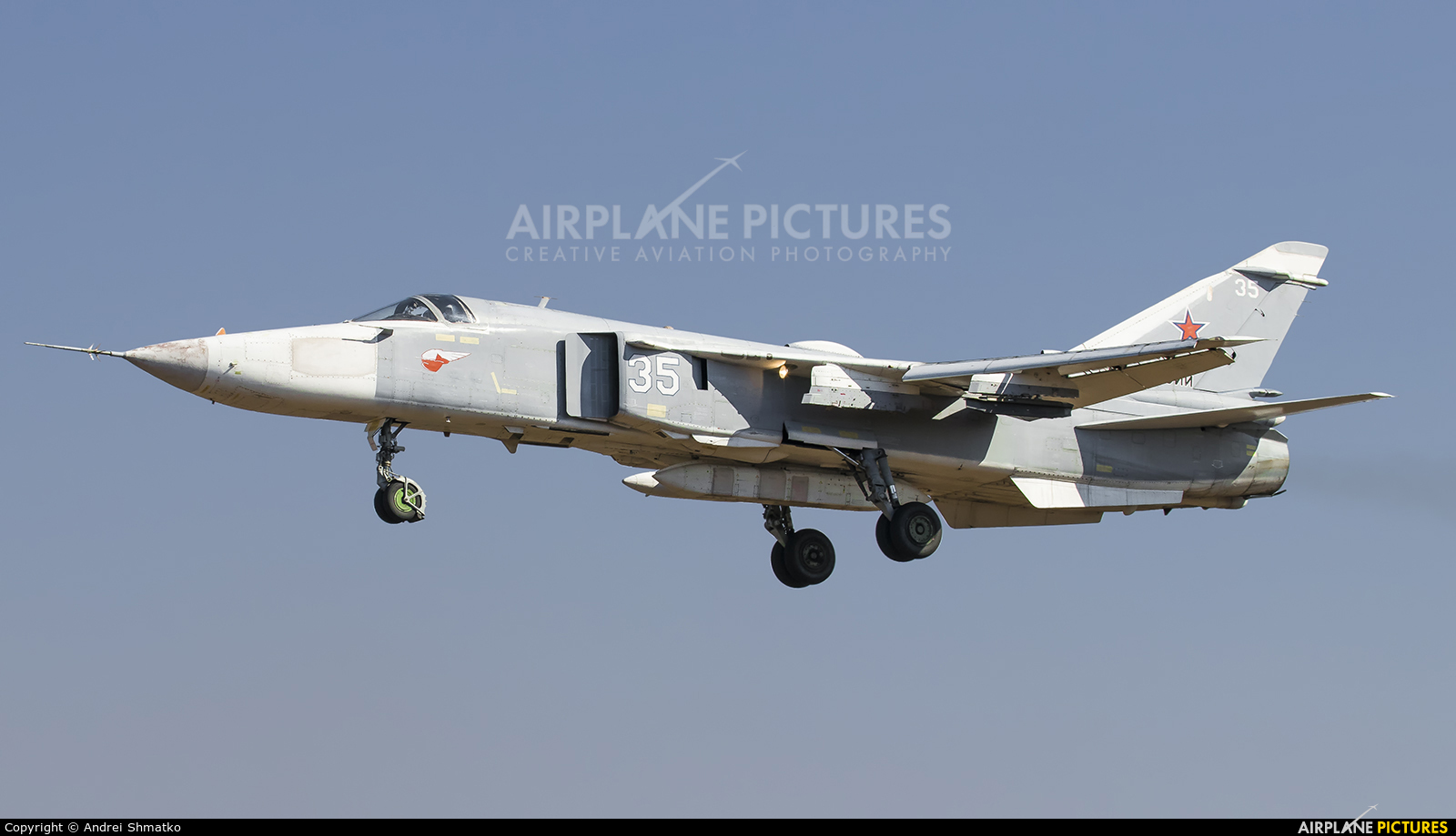 Russia - Air Force RF-95028 aircraft at Undisclosed Location