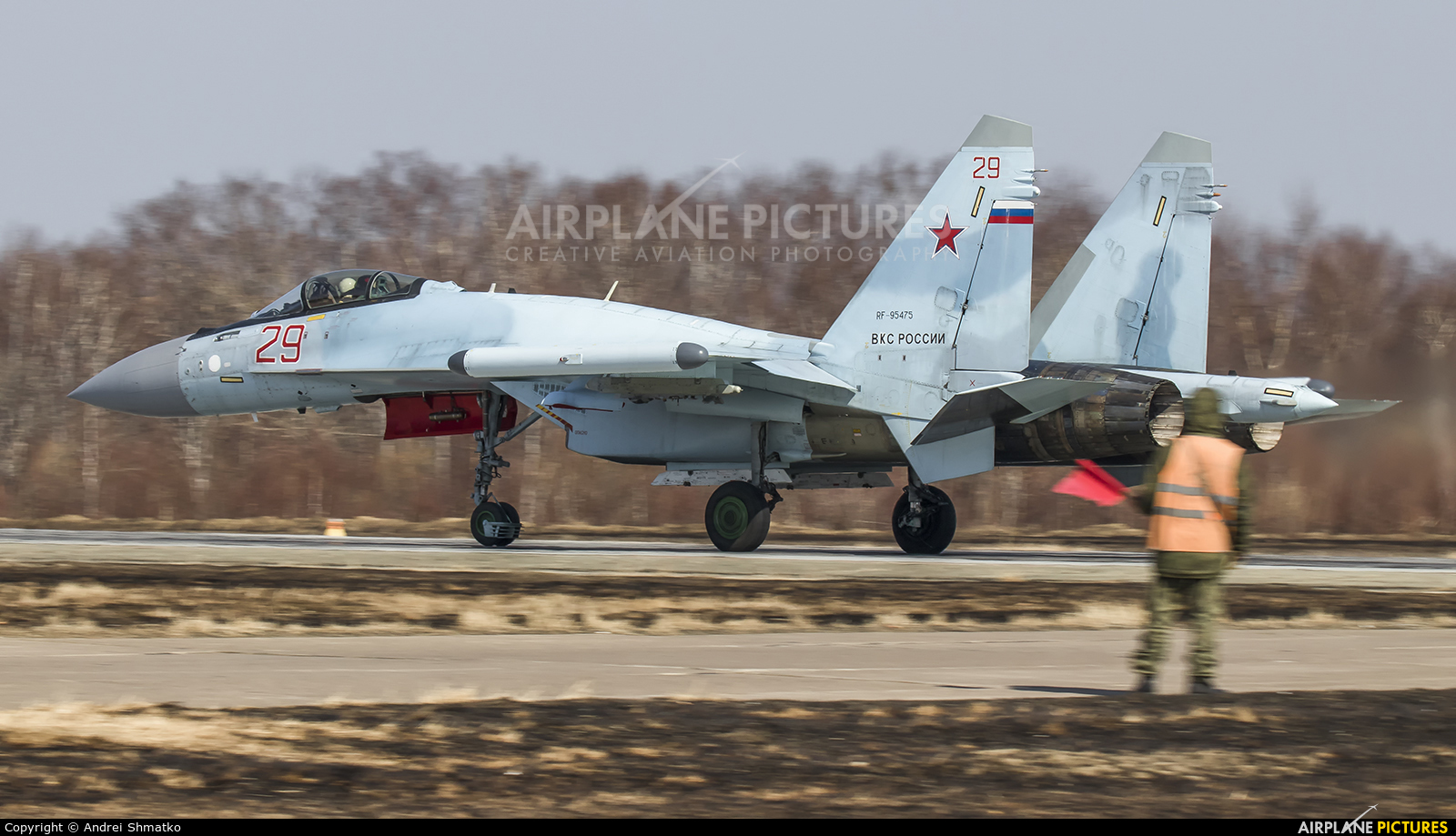 Russia - Air Force RF-95475 aircraft at Undisclosed Location