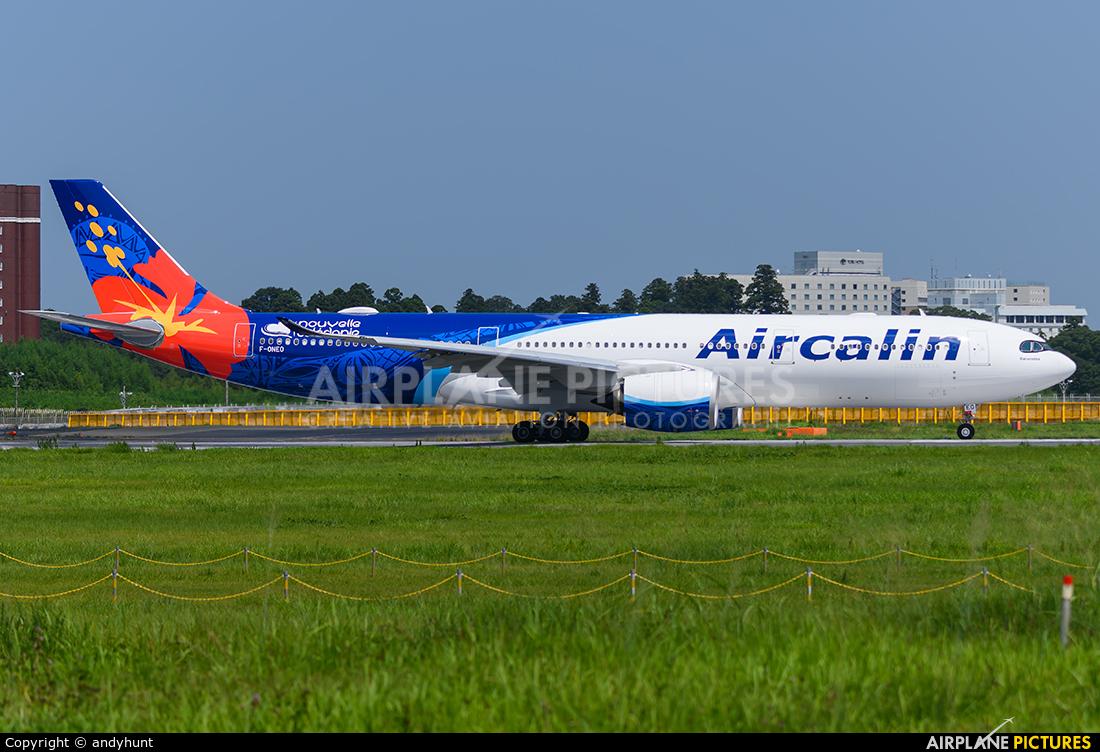 Aircalin F-ONEO aircraft at Tokyo - Narita Intl