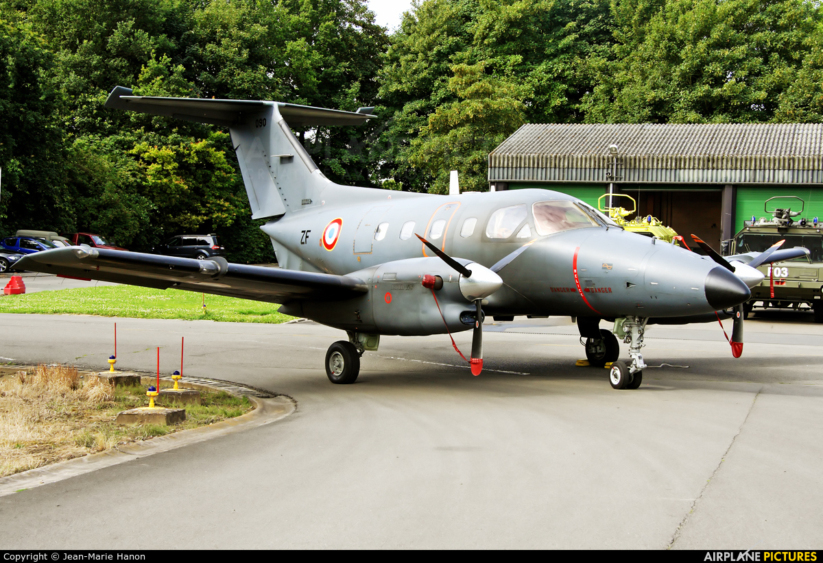 France - Air Force 090 aircraft at Beauvechain