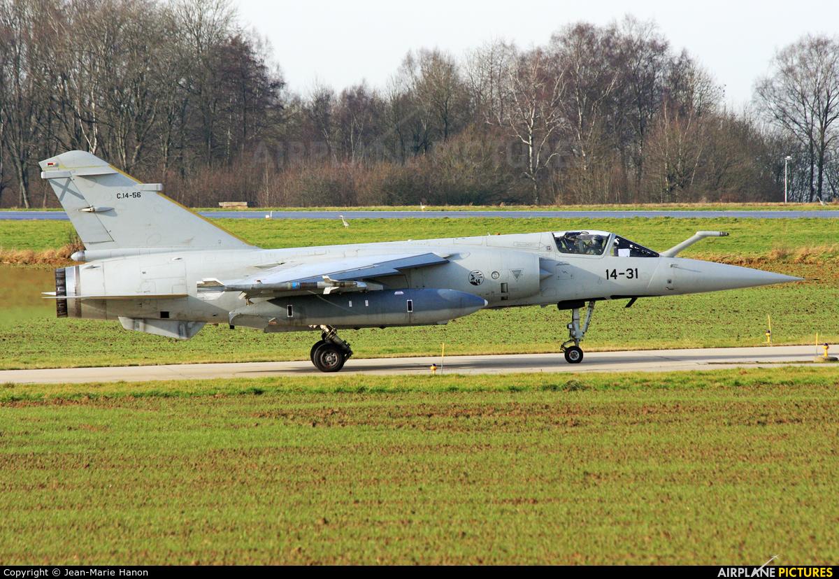 Spain - Air Force C-14-56 aircraft at Florennes