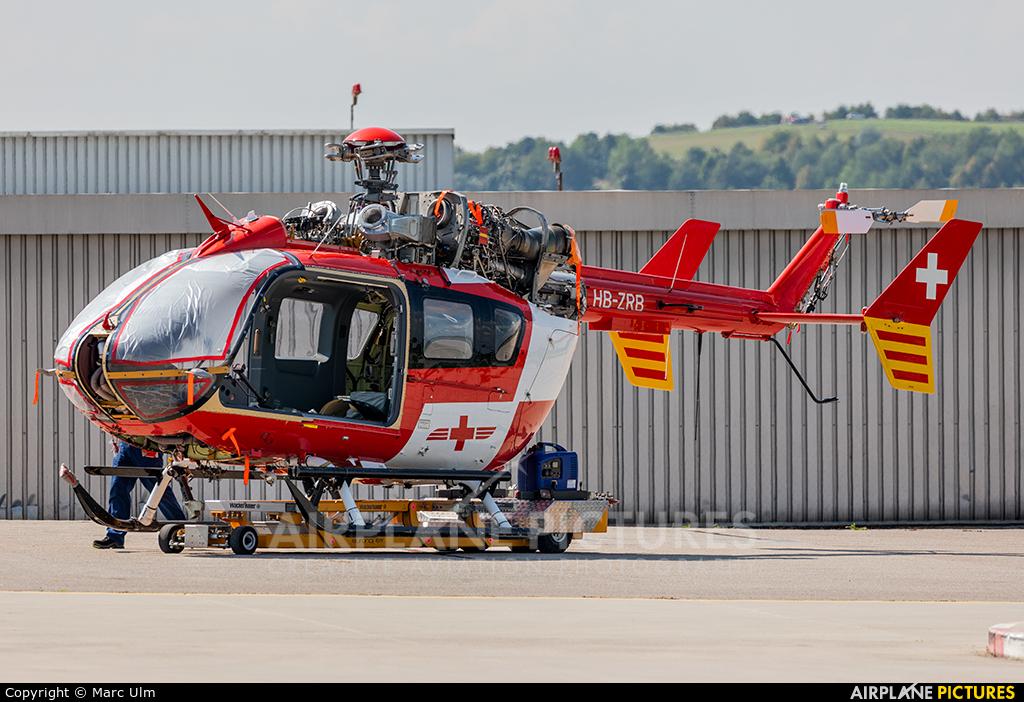 REGA Swiss Air Ambulance  HB-ZRB aircraft at Augsburg
