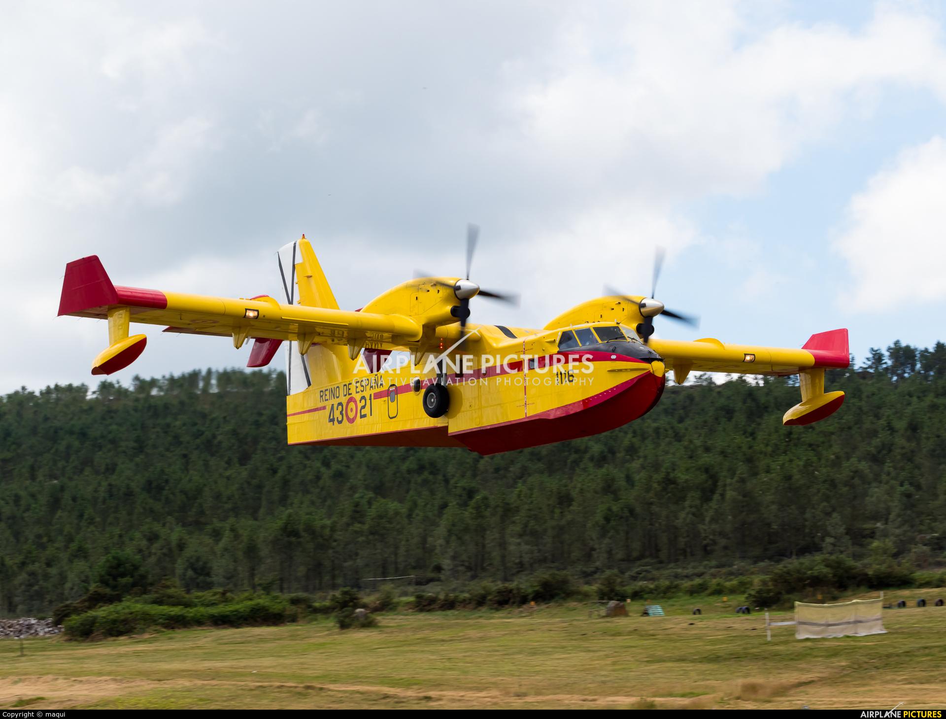 Spain - Air Force UD.13-21 aircraft at Aerodromo De Mazaricos