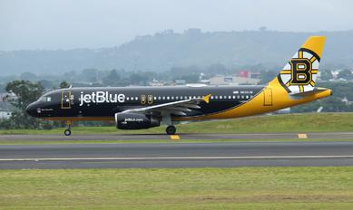 N632JB - JetBlue Airways Airbus A320