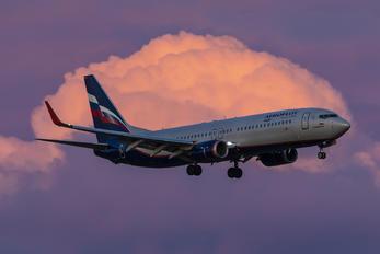 VQ-BWF - Aeroflot Boeing 737-800
