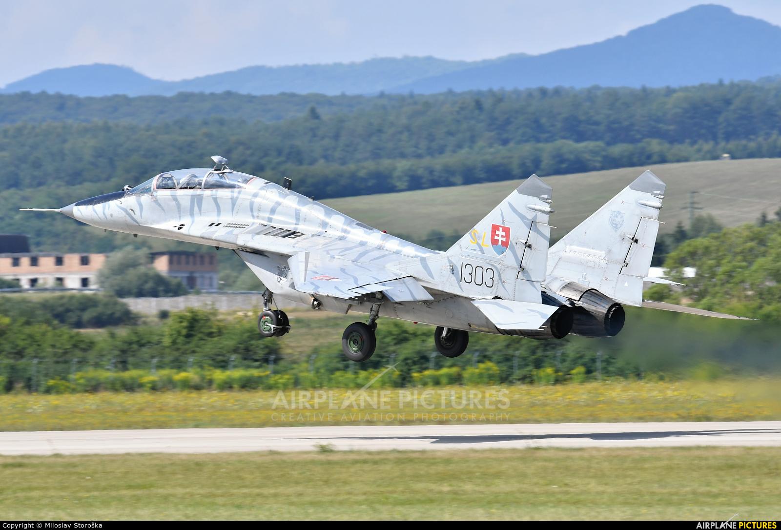 Slovakia -  Air Force 1303 aircraft at Sliač