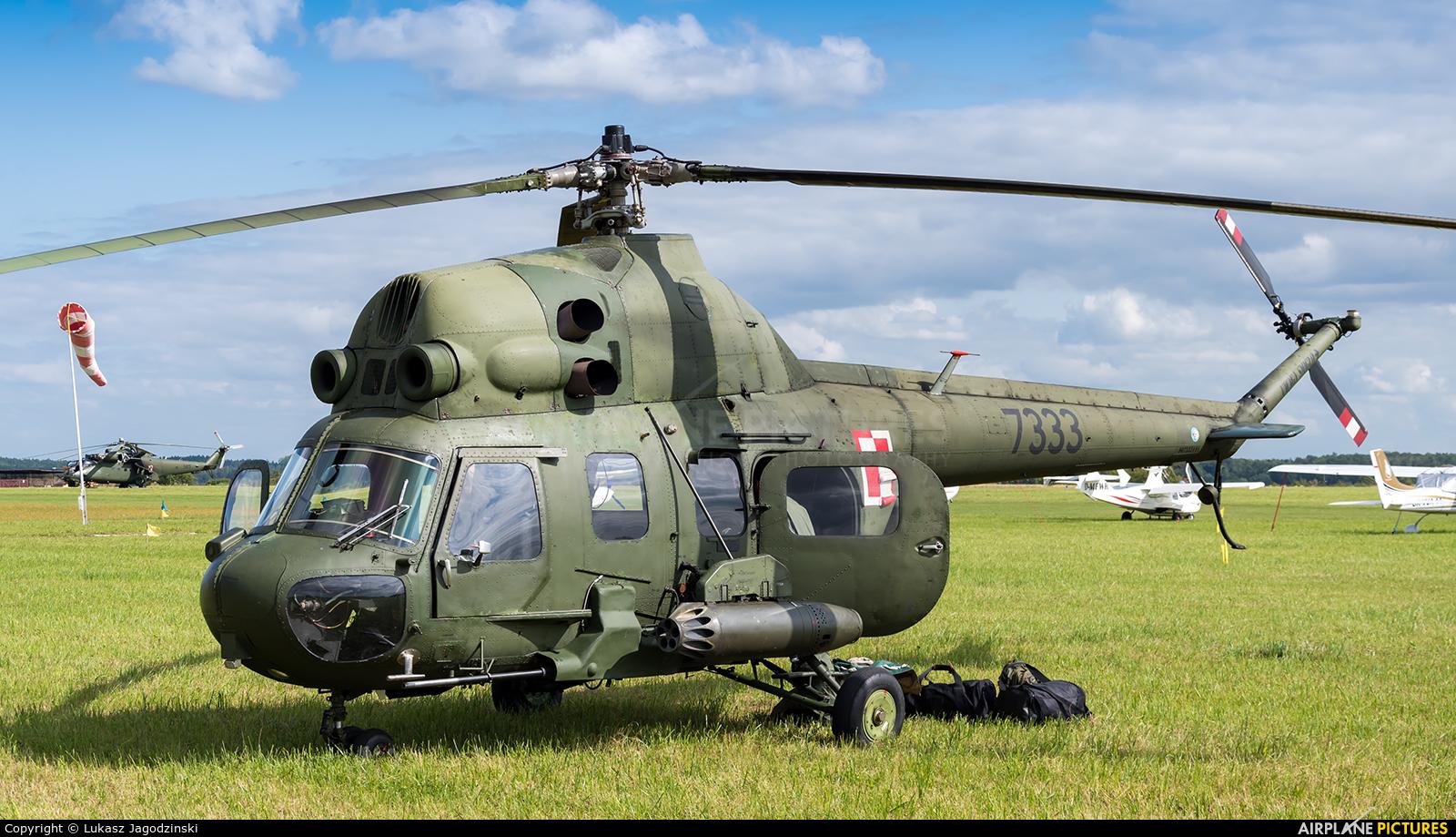 Poland - Army 7333 aircraft at Kętrzyn - Wilamowo