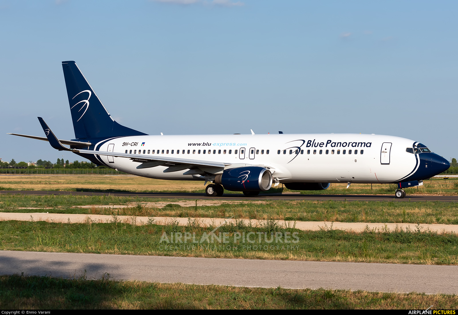 Blue Panorama Airlines 9H-CRI aircraft at Verona - Villafranca