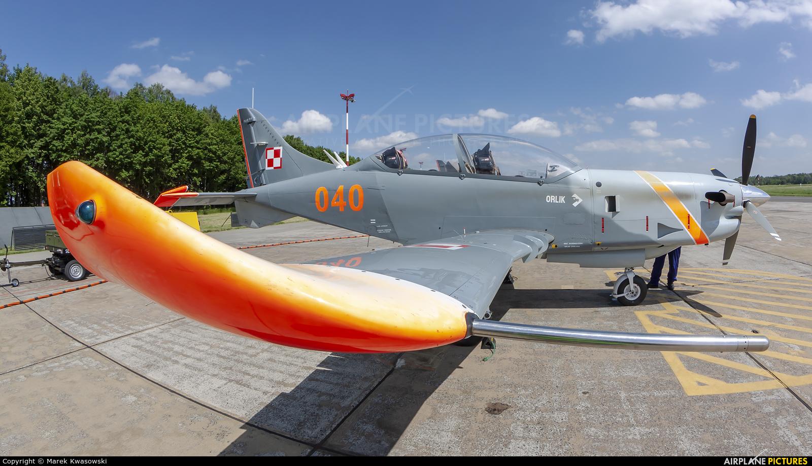 "Poland - Air Force ""Orlik Acrobatic Group"" 040 aircraft at Radom - Sadków"