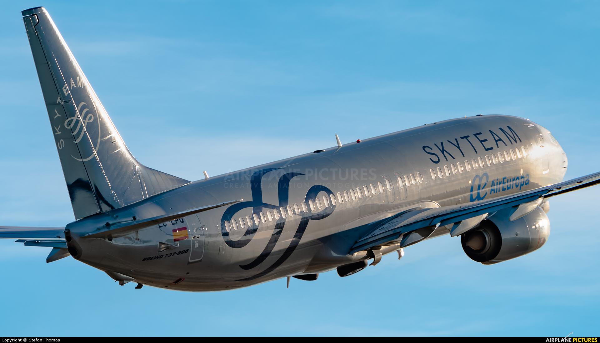 Air Europa EC-LPQ aircraft at Palma de Mallorca