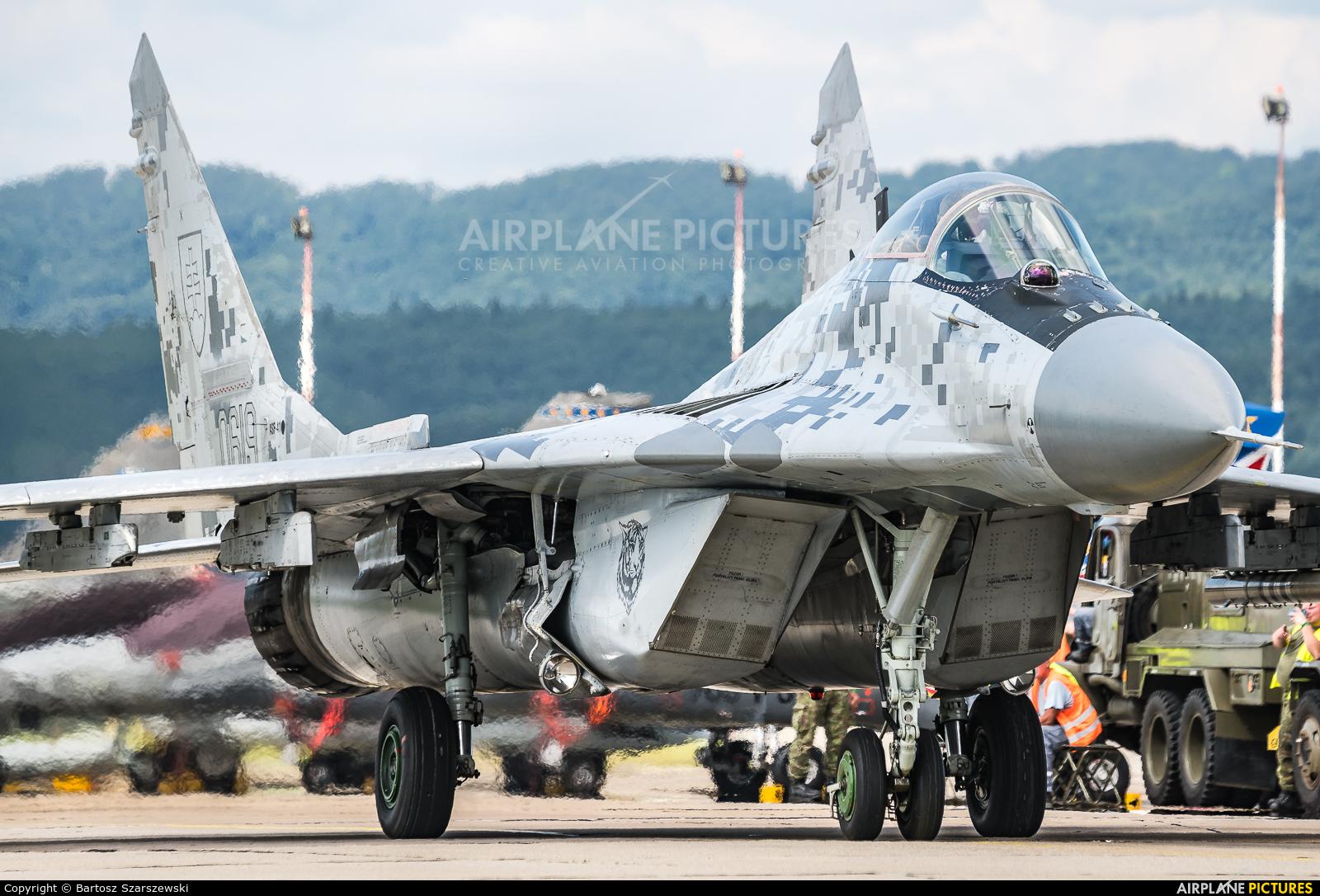 Slovakia -  Air Force 0619 aircraft at Sliač