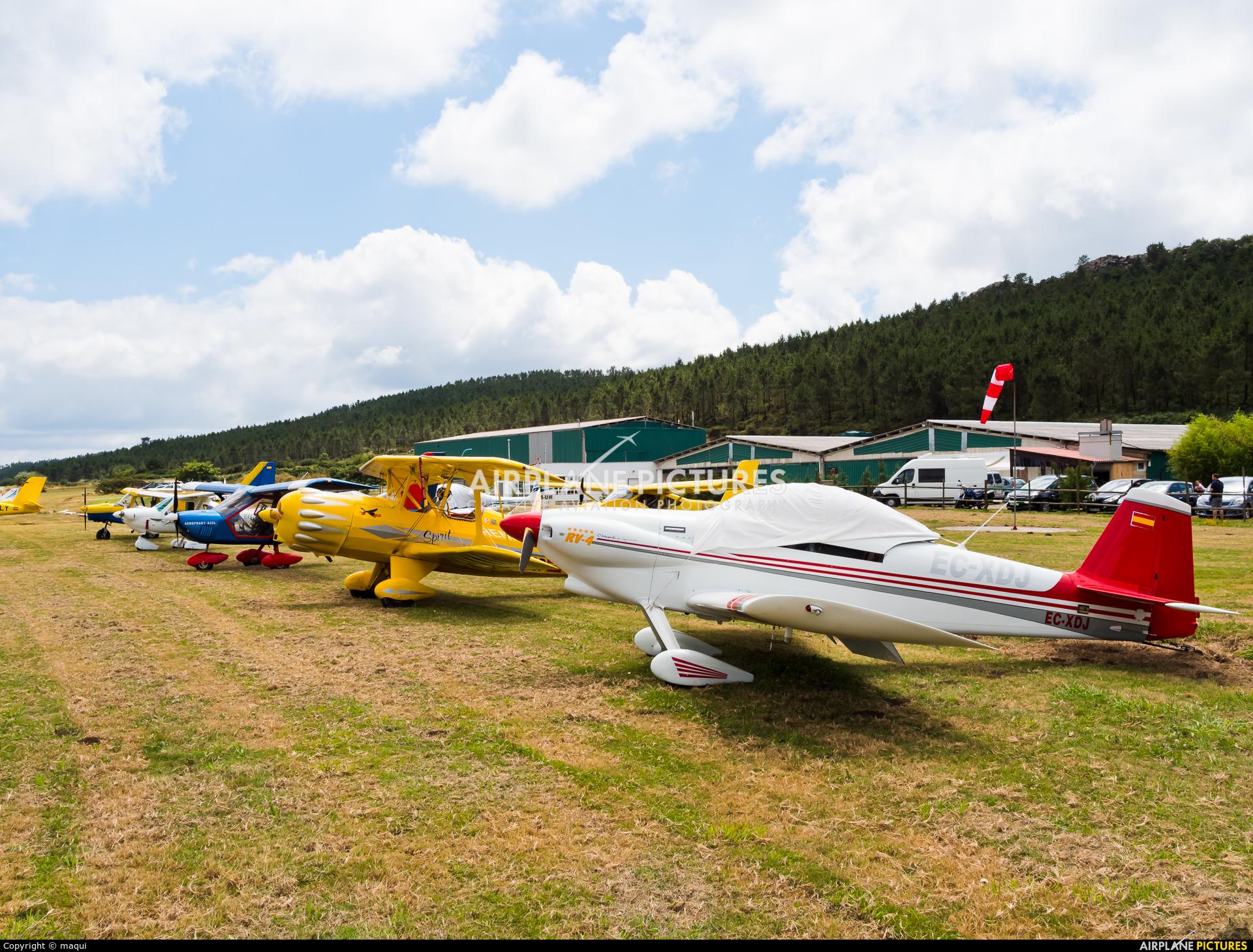 Private EC-XDJ aircraft at Aerodromo De Mazaricos
