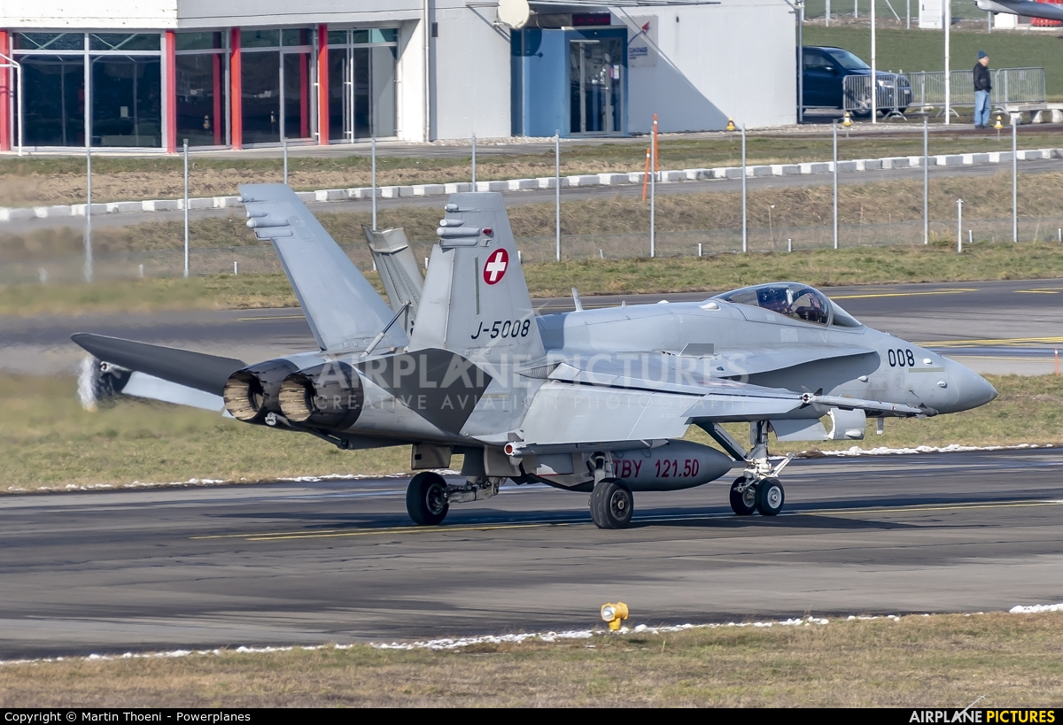 Switzerland - Air Force J-5008 aircraft at Payerne
