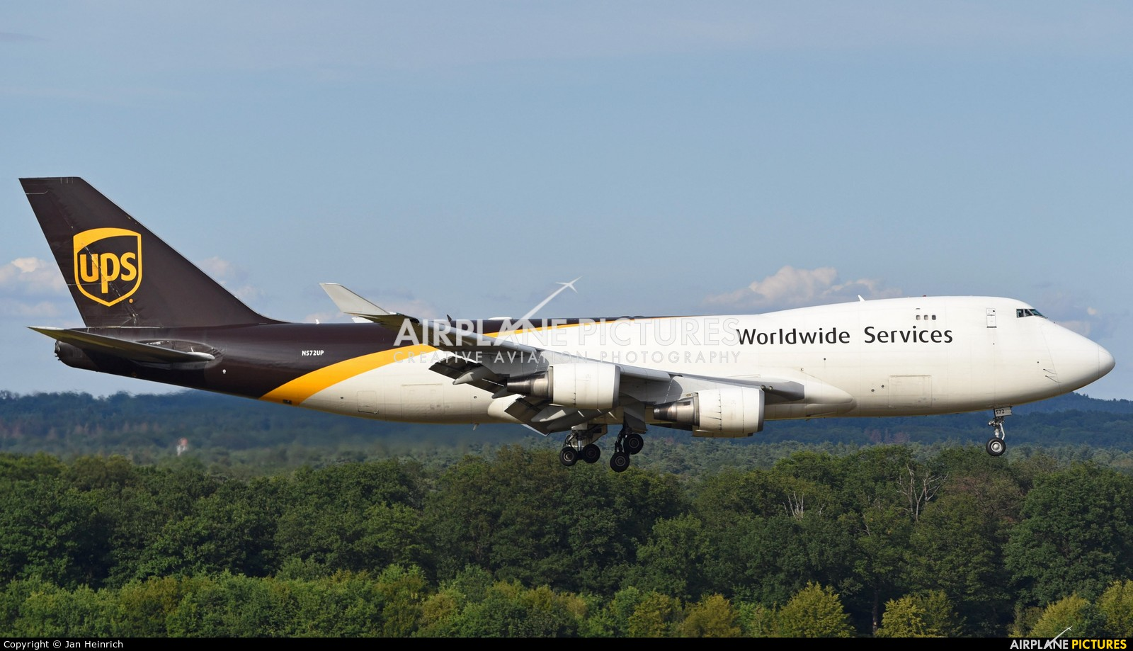 UPS - United Parcel Service N572UP aircraft at Cologne Bonn - Konrad Adenauer
