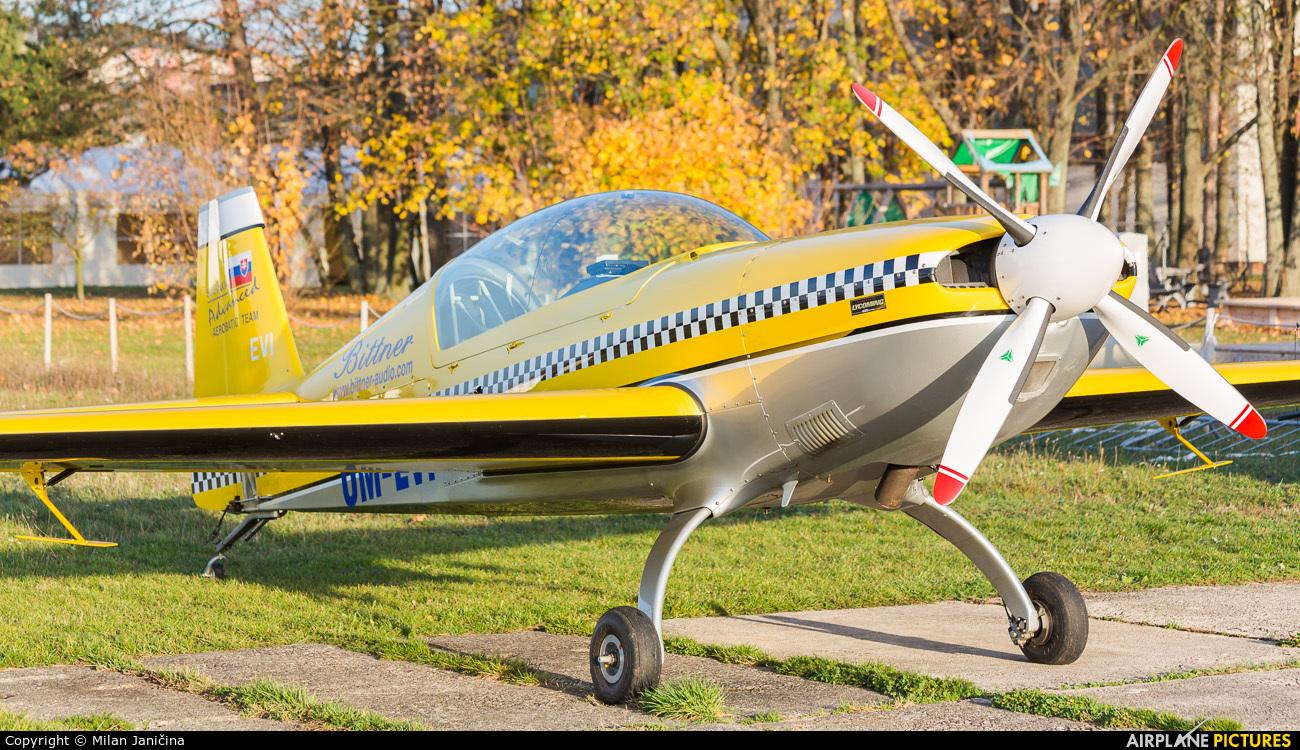 Jozef Viskupic - Bittner OM-EVI aircraft at Prievidza