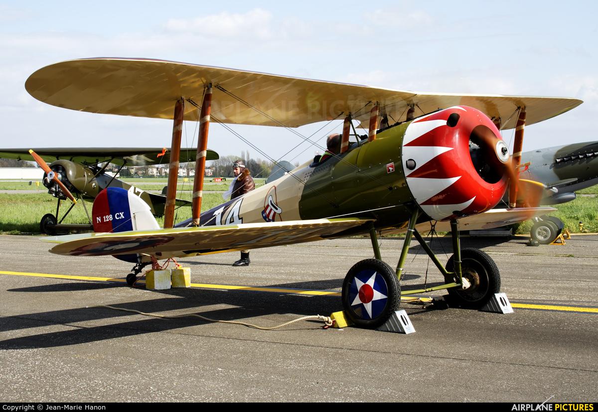 Private N128CX aircraft at Antwerp - Deurne