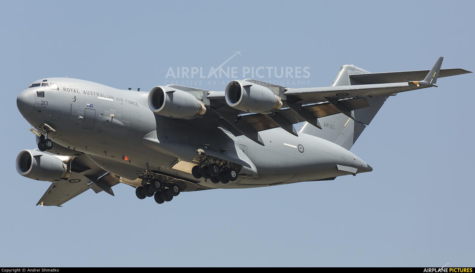 Australia - Air Force A41-213 aircraft at Osan AB