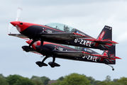 """G-ZXCL - 2 Excel Aviation """"The Blades Aerobatic Team"""" Extra 300L, LC, LP series aircraft"""