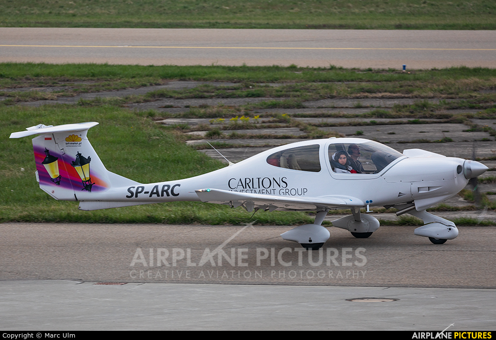 Private SP-ARC aircraft at Friedrichshafen