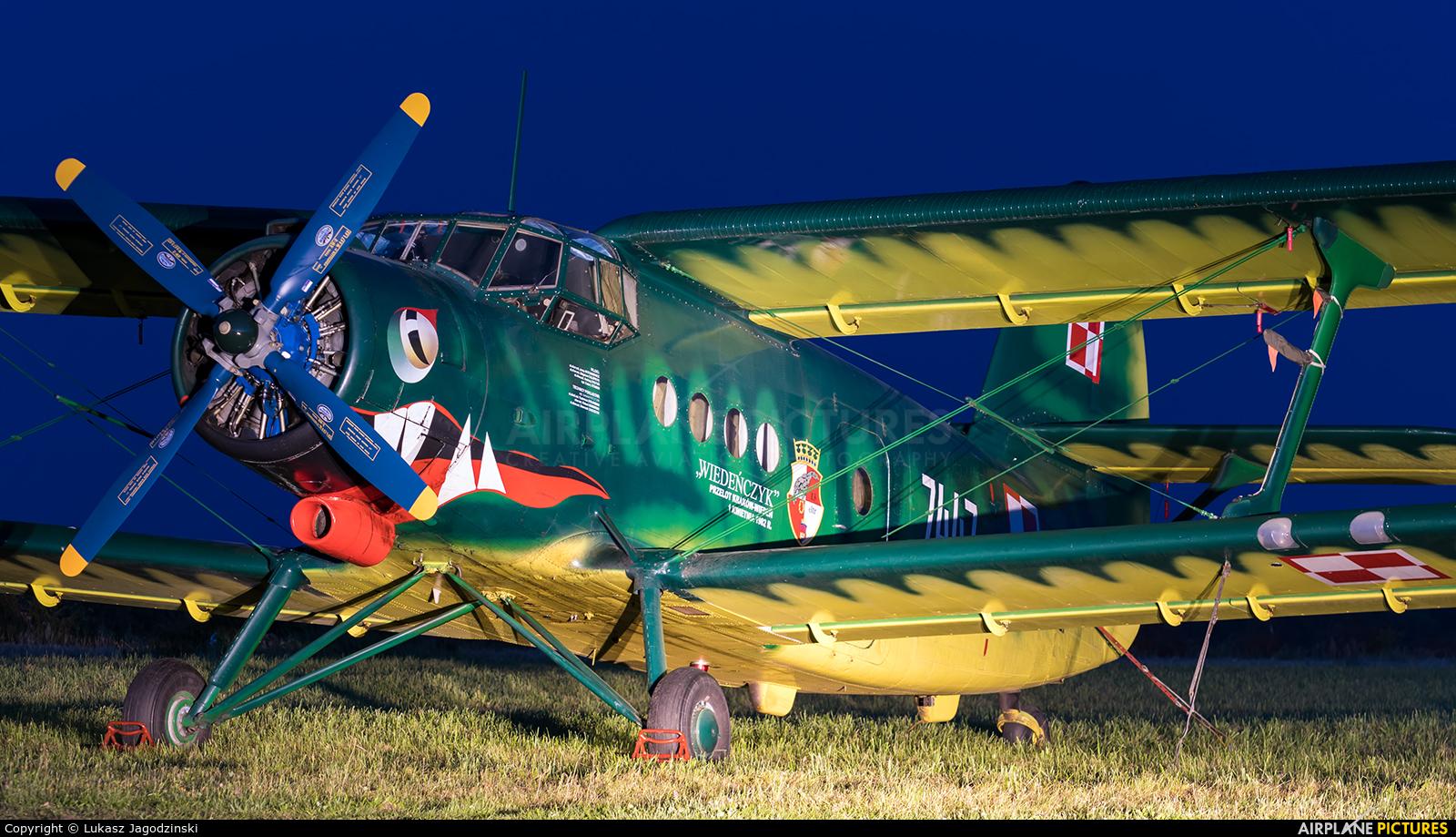 Poland - Air Force 7447 aircraft at Kętrzyn - Wilamowo