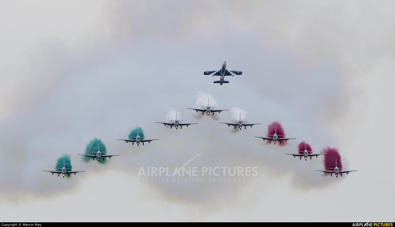 "Italy - Air Force ""Frecce Tricolori"" - aircraft at Sliač"
