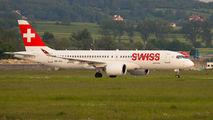 HB-JCJ - Swiss Bombardier CS300 aircraft