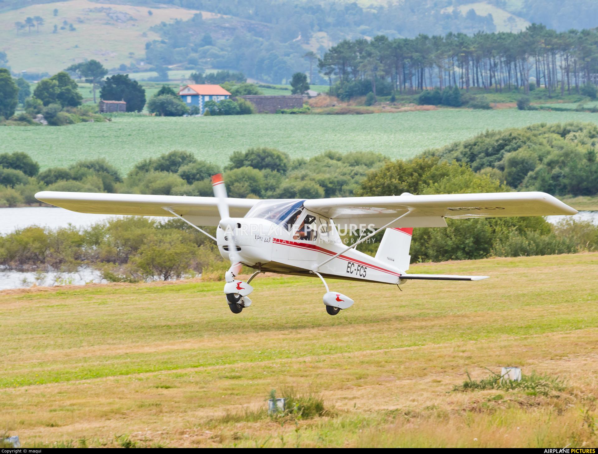 Real Aero Club de Lugo EC-FC5 aircraft at Aerodromo De Mazaricos