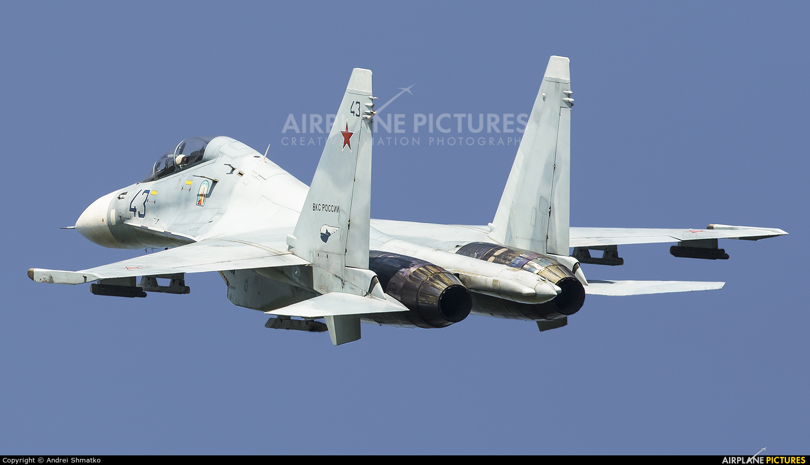Russia - Air Force RF-95072 aircraft at Undisclosed Location