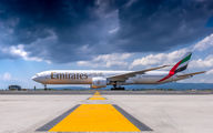 A6-EBY - Emirates Airlines Boeing 777-300ER aircraft