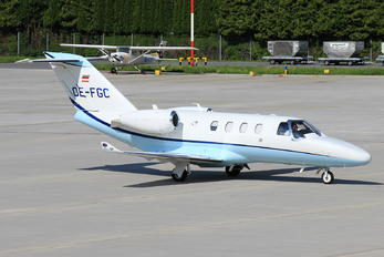 OE-FGC - FlyTyrol Cessna 525 CitationJet M2