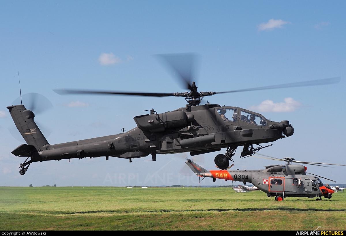 USA - Army 17-03140 aircraft at Kętrzyn - Wilamowo