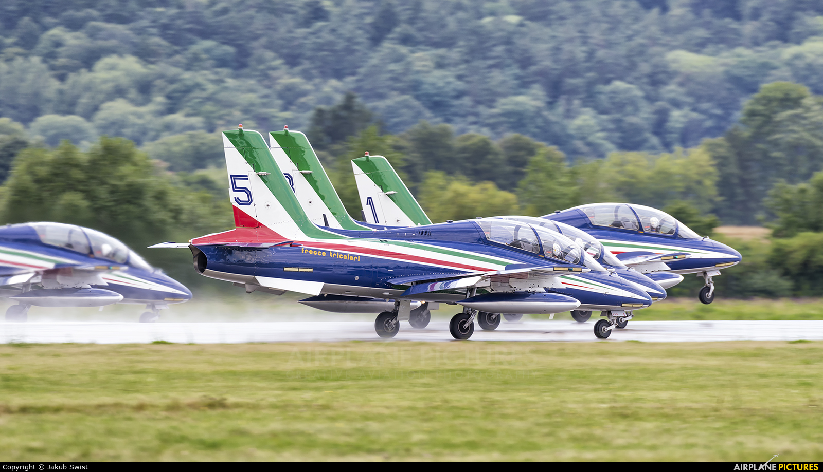 """Italy - Air Force """"Frecce Tricolori"""" MM54473 aircraft at Sliač"""