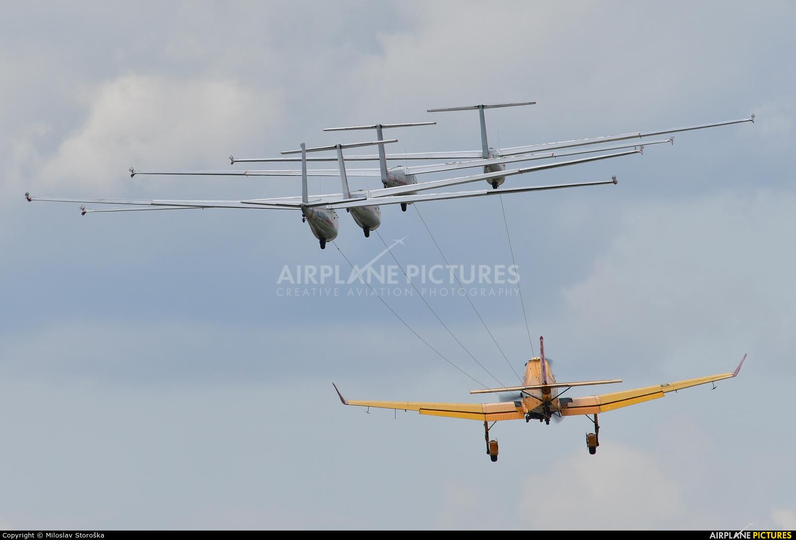 Očovskí bačovia Team OM-2709 aircraft at Sliač