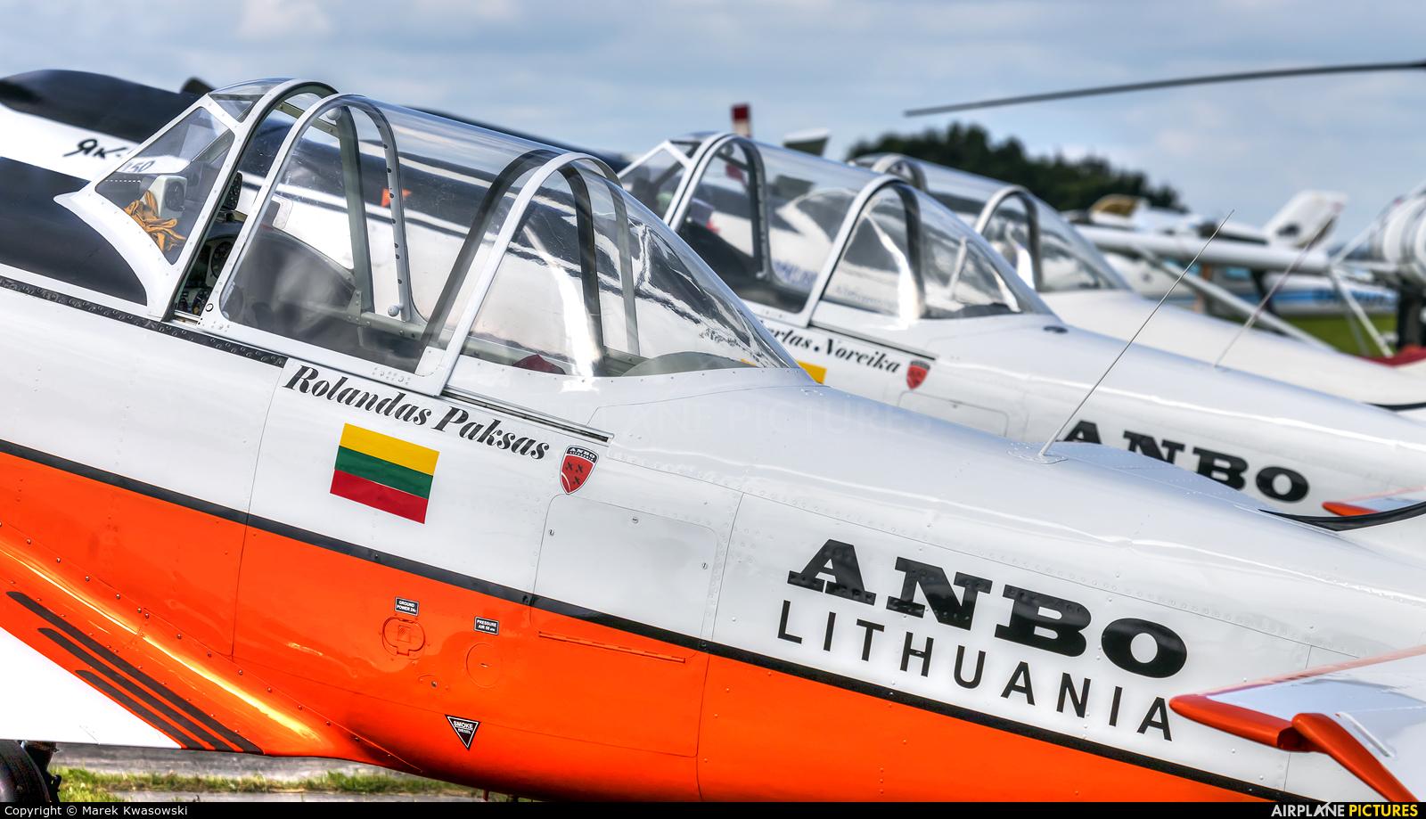 Private LY-AKU aircraft at Kętrzyn - Wilamowo