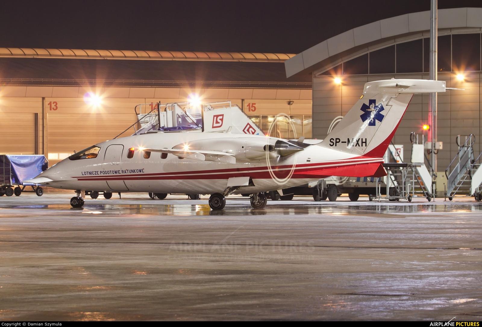 Polish Medical Air Rescue - Lotnicze Pogotowie Ratunkowe SP-MXH aircraft at Kraków - John Paul II Intl