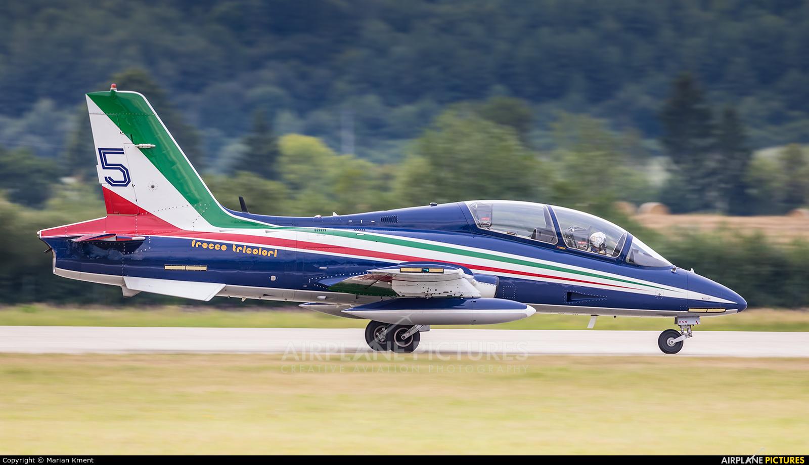 "Italy - Air Force ""Frecce Tricolori"" 059 aircraft at Sliač"